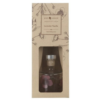 Pacific Trade Pure and Natural Lavender/Vanilla Reed Diffuser
