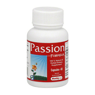 BlueSky Herbal Passion Formula Herbal Supplement