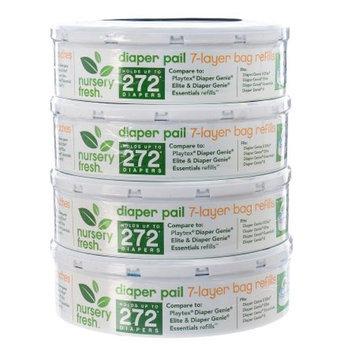 Nursery Fresh Refill for Diaper Genie, 4 ea
