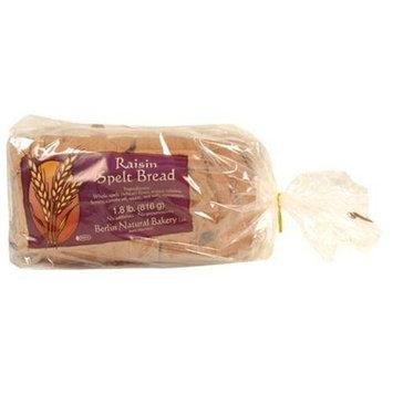 Berlin Natural Bakery Spelt Raisin Bread, Size: 27 Oz (Pack of 6)