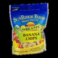 SunRidge Farms Organic Banana Chips