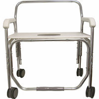 ConvaQuip Bariatric Transport Shower Chair with 26'' Seat Width
