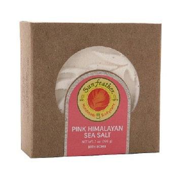 Sunfeather Pink Himalayan Seat Salt Bath Bomb