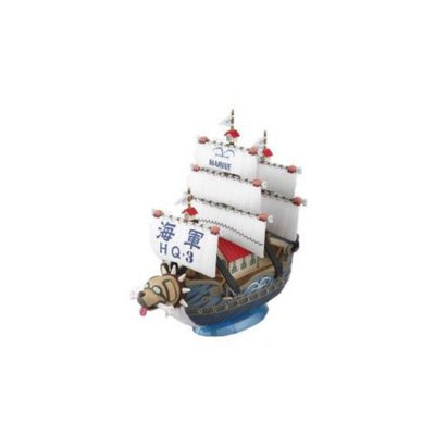 Bandai The great one piece warship ship (Grand Ship) collection Garp (From TV animation ONE PIECE) (japan