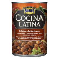 BUSH'S COCINALATINA FRIJOLES MEXICANA 15.5