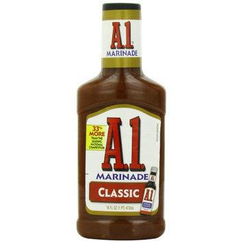 A-1 A 1 Steak House Marinade, Classic bottles, 16 FL OZ (Pack of 6)