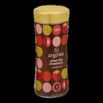 Argo Tea Green Tea Strawberry Unsweetened
