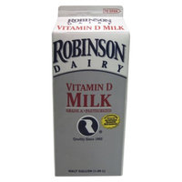 Dean's Robinson Dairy Whole Milk .5 gal