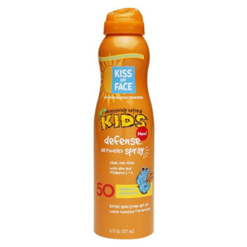 Kiss My Face Continuous Spray Sunscreen Kids Defense SPF 50