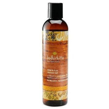 Bodhichitta Botanicals Wild and Free Shower Gel, 8 Ounce