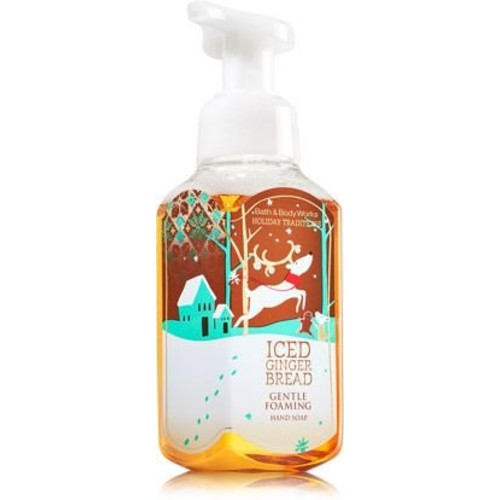 Bath & Body Works Iced Gingerbread Gentle Foaming Hand Soap 8.75 oz/259mL