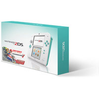 Nintendo 2DS with Mario Kart 7 Game, Sea Green