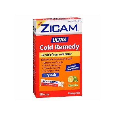 Zicam Ultra Cold Remedy Crystals