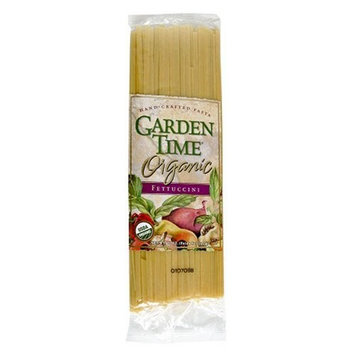 Garden Time Organic Semolina Fettuccini, 12-Ounce Packages (Pack of 12)