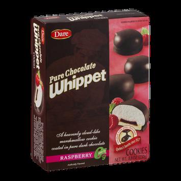 Dare Pure Chocolate Whippet Cookies Raspberry
