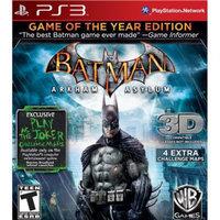 Warner Brothers Batman: Arkham Asylum -- Game of the Year Edition (PlayStation 3)