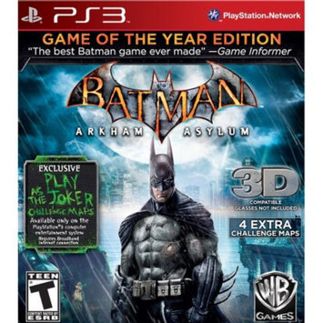 Warner Brothers Batman: Arkham Asylum -- Game of the Year Edition (PlayStation 3)