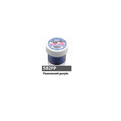 1/2 Ounce Flourescent Purple Acrylic Powder by Sassi for Beautiful Nails