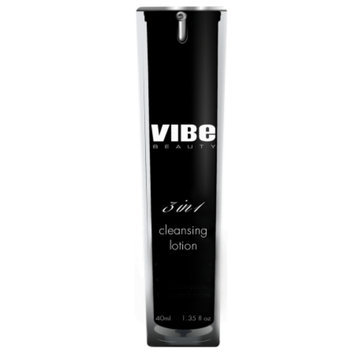 Vibe Beauty 3 in 1 Cleansing Lotion, 1.35 fl oz
