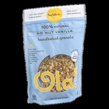 Ola! 100% Natural Handbaked Granola No Nut Vanilla