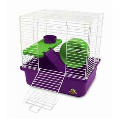 Super Pet My first home 100079045 My First Hamster Home 2-Story Small Animal Cage (Case of 4)