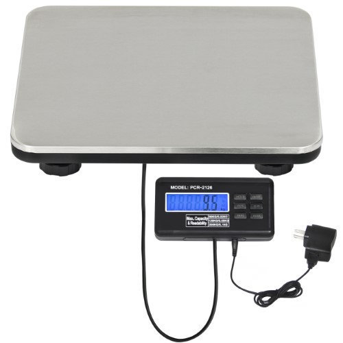 Sky Best Choice Products 440lbs Digital Floor Bench Postal Scale Platform W/ LCD Display