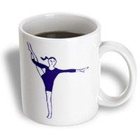 Recaro North 3dRose - Gymnastics - The Gymnast - 11 oz mug