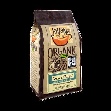 JavaNa Coffee Organic French Roast Ground Coffee