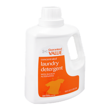 Guaranteed Value Laundry Detergent with Bleach Alternative Concentrated