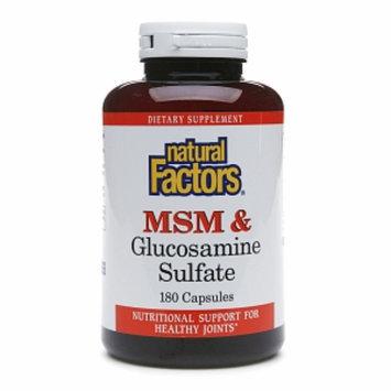 Natural Factors MSM & Glucosamine Sulfate