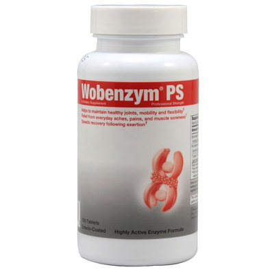 Douglas Laboratories Wobenzym PS, Enteric-Coated Tablets, 100 ea