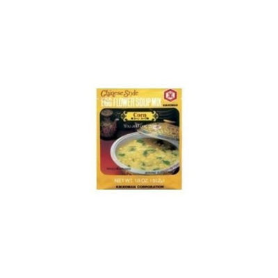 Kikkoman Chinese Style Egg Flower Soup Mix, Corn Flavor, 1.3 Ounce