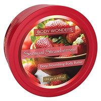 Body Wonders Sensual Strawberries Body Butter 6.9 oz