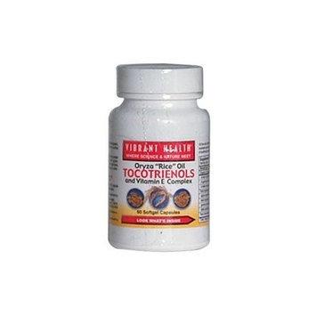 Vibrant Health Super Natural E – Vitamin E Complex, 60-Softgels