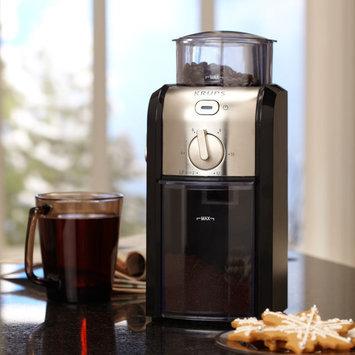 Krups 8-oz. Burr Coffee Grinder, Black and Stainless Steel