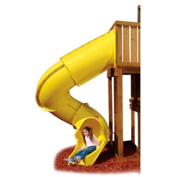Swing-N-Slide Turbo Tube Slide - Yellow