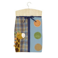 Sumersault Peek-A-Boo Diaper Stacker, Earth Tones