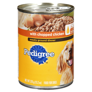 Pedigree Chopped Chicken Dod Food Dinner