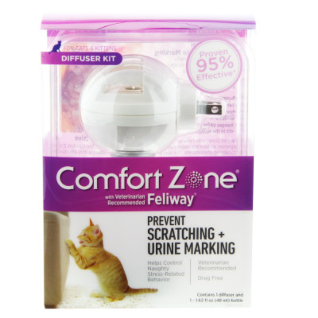 Comfort Zone Feliway Cat Diffuser Kit