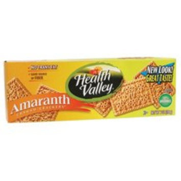 Health Valley Nat Foods Health Valley Crackers, Graham Amaranth, 7-Ounce Boxes (Pack of 6) ( Value Bulk Multi-pack)
