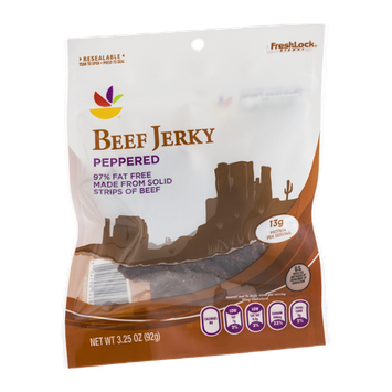 Ahold Beef Jerky Peppered