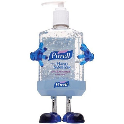 Purell Pal Instant Hand Sanitizer Refill Bottle with Holder, 8 Fluid Ounce