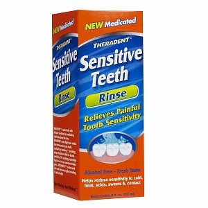Theradent Medicated Sensitive Teeth Rinse