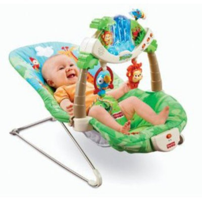 Fisher-Price Rainforest Bouncer, 1 ea