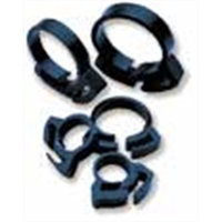 Two Little Fishies ATL5405W 6-Piece Plastic Hose Clamp Set, 1-Inch