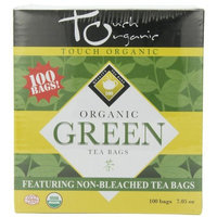 Touch Organic Green Tea Cube, 100 Count, 7.05-Ounce Boxes (Pack of 4)