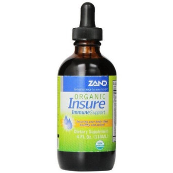Zand Organic Insure Herbal Immune Support, 4-Ounce