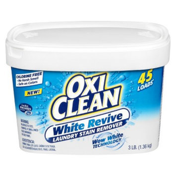 Oxi Clean OxiClean White Revive Laundry Stain Remover - 45 Loads (3 lb)