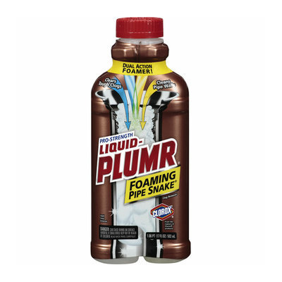 Clorox Liquid-Plumr Foaming Pipe Snake Clog Remover