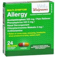 Walgreens Allergy Multi-Symptom Fast Release Quick Gels